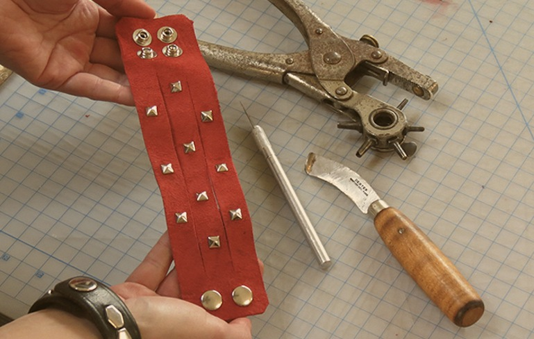 How to Make a Vintage Leather Cuff with Amanda Cooper